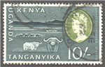 Kenya, Uganda and Tanganyika Scott 134 Used